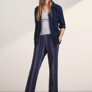 Aritzia Golden By TNA Sven Relaxed Linen Pants
